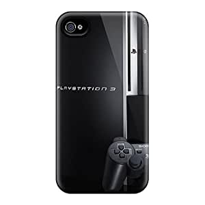 New TimJames Super Strong Ps3 Tpu Case Cover For Iphone 4/4s