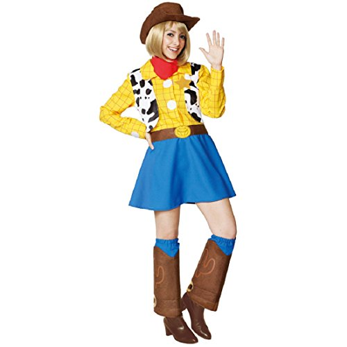 Disney Toy Story Costume - Woody Costume - Teen/Women's STD Size -