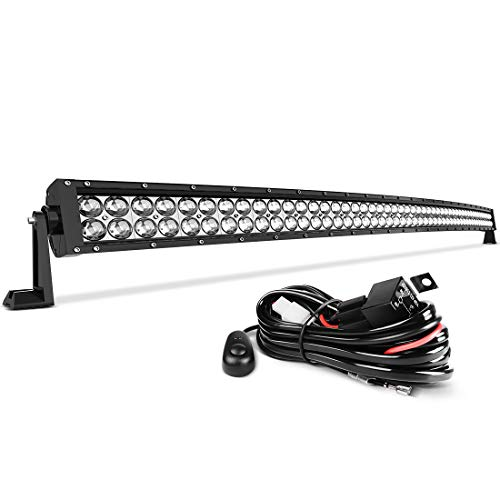 led light bar 52 inch curved auto