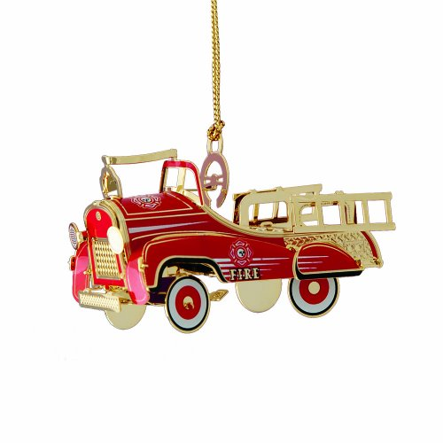 Baldwin Pedal Fire Truck Ornament
