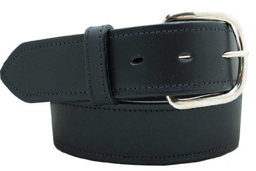 "Men's Dress Belt - 1 1/2"" English Bridle Leather Dress Belt"