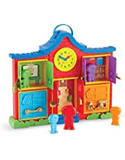 Learning Resources LER7736 Latch and Learn School House (6 Piece)