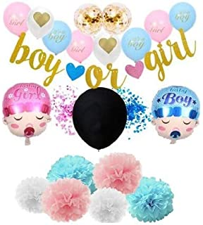 Gender Reveal Party Supplies Value Pack