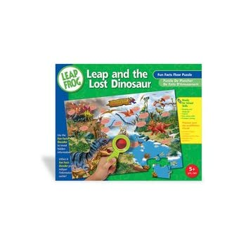 Amazon leapfrog world map fun facts 48pc floor puzzle toys leapfrog dinosaur fun facts floor puzzle with decoder gumiabroncs
