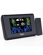 ARINO Station Météo Sans Fil Professionnelle Avec Ecran Couleur LCD - Noir