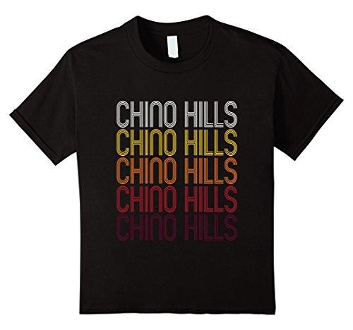 Kids Chino Hills, CA | Vintage Style California T-shirt 12 - Chino Hills California