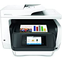 HP OfficeJet Pro 8720 All-in-One Wireless Printer with Mobile Printing, Instant Ink ready - White (M9L75A)