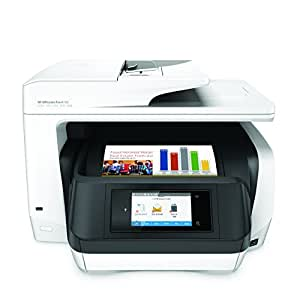 HP OfficeJet Pro 8720 All-in-One Wireless Printer with Mobile Printing, HP Instant Ink & Amazon Dash Replenishment ready - White (M9L75A)