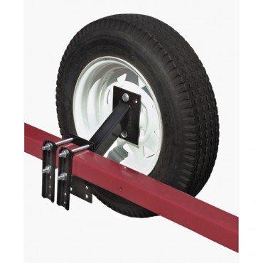 utility trailer tire holder - 9