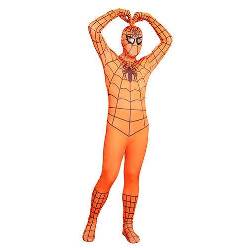 FYBR - Disfraz de Spiderman Naranja para Adulto, Unisex ...