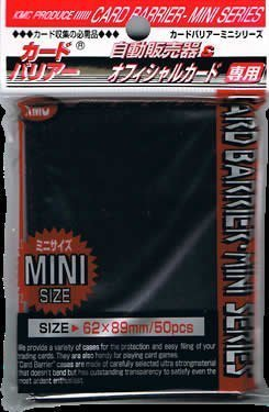 Mini-Super-Black-Card-Sleeves-50ct-by-KMC-Sleeves