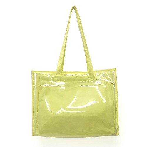 zakkamart Women's Cotton Polyester Bag A3 Lemon Yellow Japanese Otaku Itabag