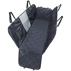 JHHXW Dog Pad Outdoor Car Pet Mat Double Zipper with Window Black.