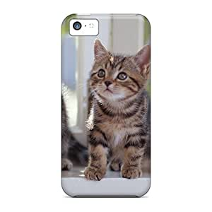 Awesome Case Cover/iphone 5c Defender Case Cover(kittens)