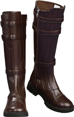 Rubie's Costume Men's Star Wars Adult Anakin Skywalker Boots, Brown, Medium