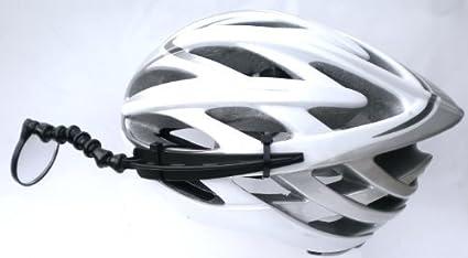 Amazon Com Evt Safe Zone Bicycle Helmet Mirror Sports Outdoors