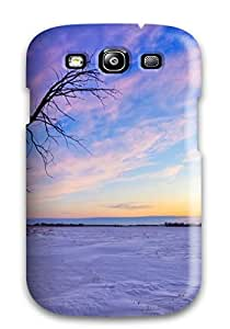 Hot Old Tree Sunset First Grade Tpu Phone Case For Galaxy S3 Case Cover