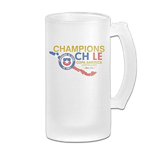 - Acosoy 2016 Copa America Chile Champion Scrub Beer Mugs/Beer Stein/Beer Tankard/Beer Glasses