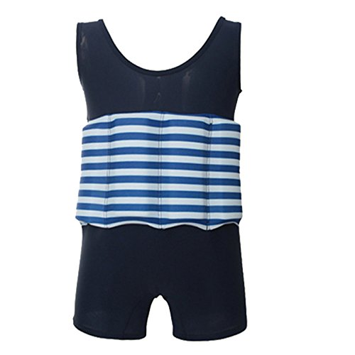KMMall Float Suit Toddler Kids Flotation Swimsuit with Re...