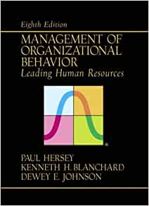 human relations and organizational behavior Organizational behavior and human decision processes publishes fundamental research in organizational behavior, organizational psychology, and human.