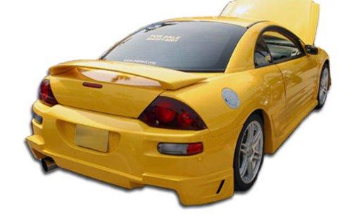 - Duraflex ED-SAK-706 Blits Rear Bumper Cover - 1 Piece Body Kit - Compatible For Mitsubishi Eclipse 2000-2005