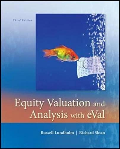 Financial Statement Analysis And Valuation 3rd Edition Pdf