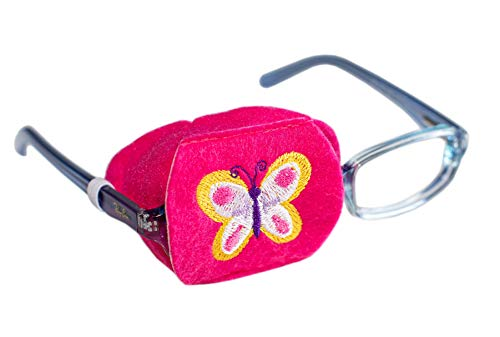 Eye Patch - Right Coverage Child Butterfly Eye Glass Eye Patch from Patch Pals