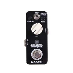 Mooer Blade, metal distortion micro pedal