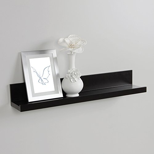 Deep Picture Ledge: InPlace Shelving 9084684 Floating Shelf With Picture Ledge