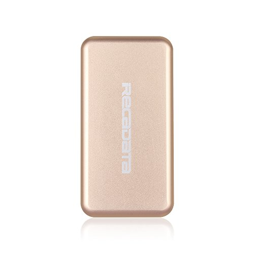 iRecadata M30 Portable SSD Drive, 128G Mini External Solid State Drive with Encryption Function, USB 3.0, mSATA III MLC SSD Built-in, Gold by irecadata