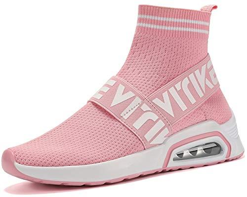 (Littleplum Women'sWalkingShoesRunningSocksPlatformFashionMeshSneakersAirCushionAthleticGymCasualLoafersDanceHip-hopShoesforKidsBoysGirls)
