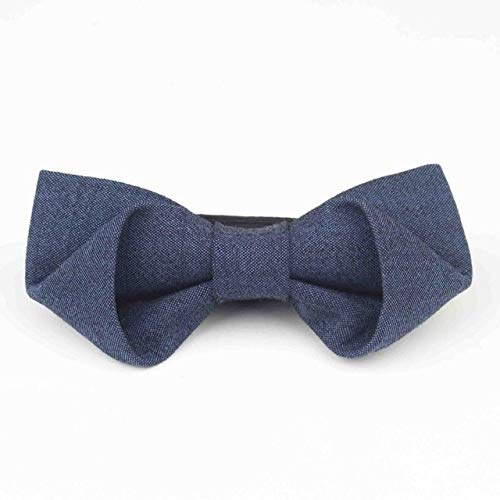 Boxed Pattern Necktie - New Boxed Classical 100% Wool Bow Tie Multiple Colors Houndstooth Pattern Mens Luxury Stereo - (Color: 10)