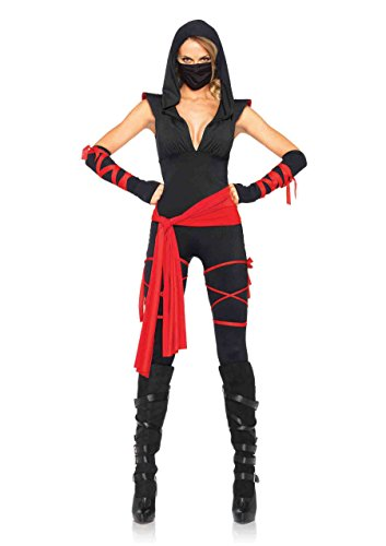 Leg Avenue Sexy Deadly Ninja Costume - (Leg Avenue Womens Referee Costume)