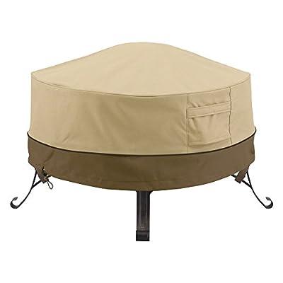 Classic Accessories Veranda Round Fire Pit/Table Cover