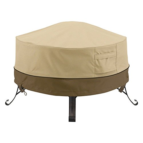 Classic Accessories Veranda Round Fire Pit/Table Cover
