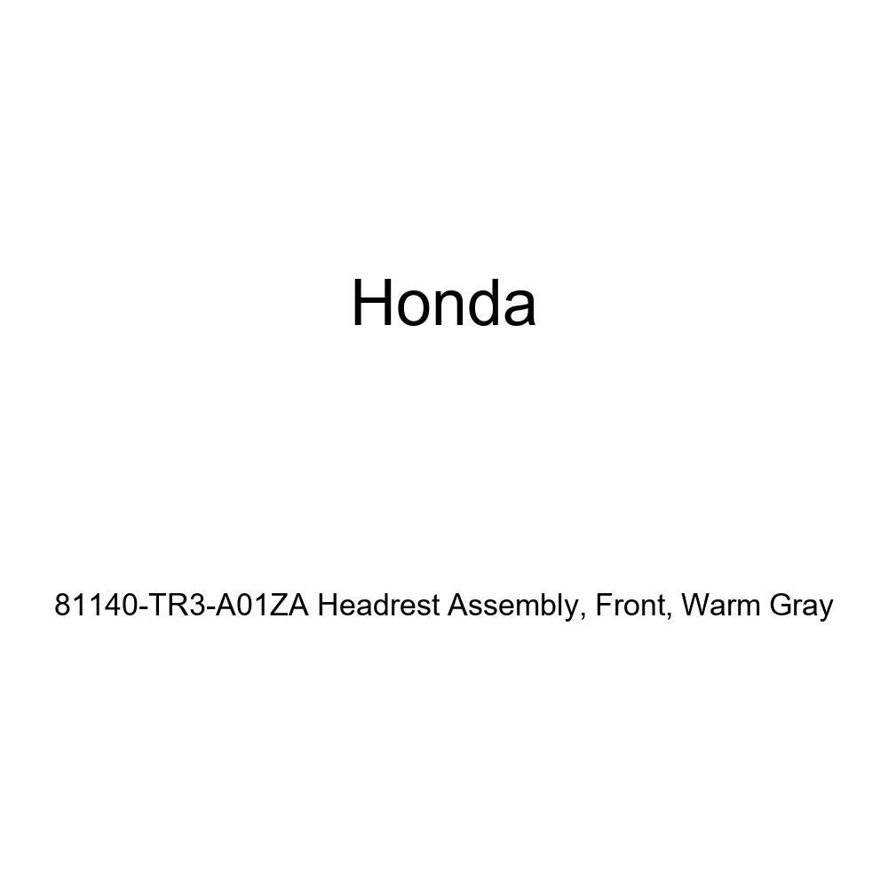 Honda Genuine 81140-TR3-A01ZA Headrest Assembly Warm Gray Front