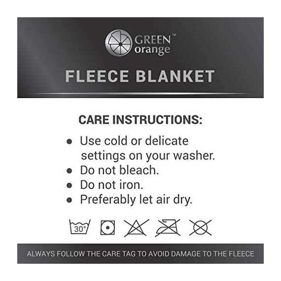 GREEN ORANGE Fleece Throw Blanket for Couch – 50x60, Lightweight, Black and White – Soft, Plush, Fluffy, Warm, Cozy – Perfect for Bed, Sofa - HIGH-QUALITY: Our fleece blankets are made of premium-grade materials CERTIFIED by OEKO-TEX, BSCI, SEDEX, SQP, and WCA. A perfect combination of 250 GSM microfiber polyester and an innovative shedding technique makes this blanket comfortable and durable. In addition, all our blankets and throws undergo unique anti-pilling processing that makes them look even better. 100% HYPOALLERGENIC: Our microplush ribbed blankets are lightweight and breathable They are almost as soft and warm as wool blanket, which makes them a great alternative for people with sensitive skin. PERFECT FOR ALL-SEASONS: Our line design blankets are both warming and breathable. They will warm you up in winter and chilly summer nights. Hence, they are perfect for year-round comfort. - blankets-throws, bedroom-sheets-comforters, bedroom - 41GeEW0uSzL. SS570  -