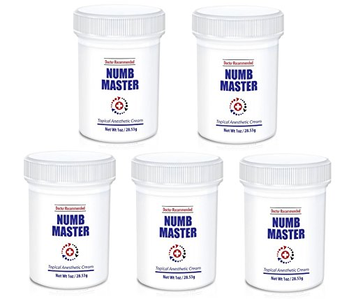 5 Pack Master Topical Anesthetic Non oily