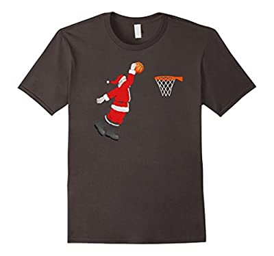 Basketball Santa Christmas Shirt - Santa Sports Tshirt