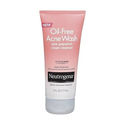 Neutrogena Oil-Free Acne Wash Pink Grapefruit Cream Facial C