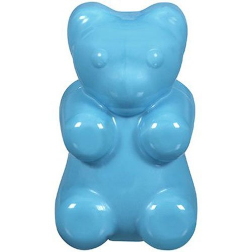 JW Pet Company Megalast Gummi Bear Dog Toy, Large, Colors Vary