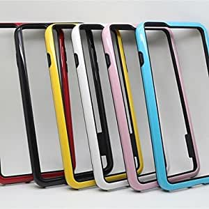 TOPMM High Quality Protective Soft Bumper Frame for iPhone 6 Plus (Assorted Colors) , Black