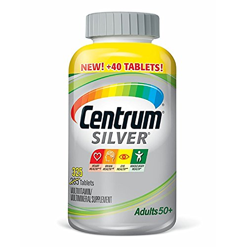 Centrum Silver Adults Multivitamin Tablets (325 ct.) (Pack of 6)