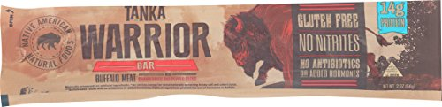 Bison Pemmican Meat Bar with Buffalo and Cranberries by Tanka, Gluten Free, Beef Jerky Alternative, Slow Smoked Original, 2 Ounce Bar, Pack of 12 by Tanka (Image #3)