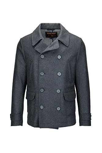 Coat P coat Giacca Men's Wool Uomo Woolrich Double 7TnqRxw0