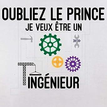 B/éb/é-Body 7 Couleur 0-18 Mois Oubliez Le Prince Je Veux /Être Un Ing/énieur