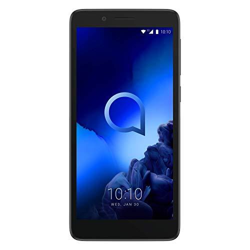 Alcatel 1C 2019 Sim Free Unlocked UK Smartphone 18:9 Display 8GB Dual Sim- Black