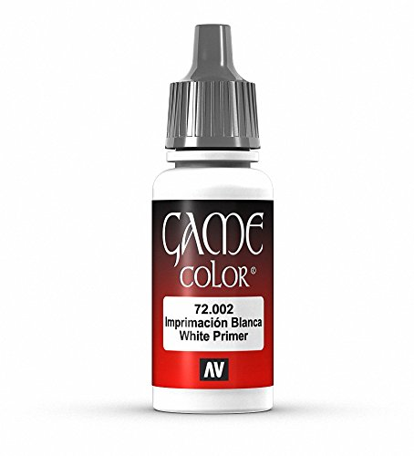 Vallejo Game Color White Primer Paint, 17ml