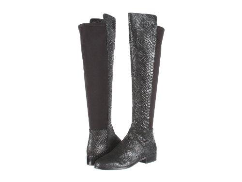 MICHAEL Michael Kors Bromley OTK Flat Boots (Black, 5.5)