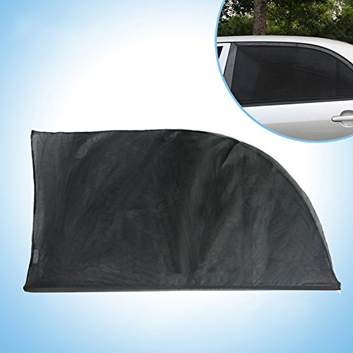 Cutpety Car Side Window Baby Sun Shade Fits All (99%) Cars! Most SUVs! (2 Piece) (L)